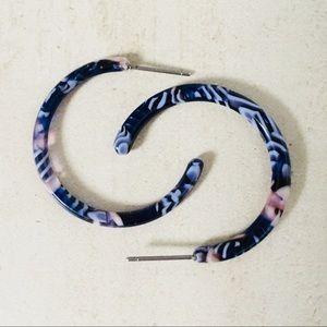 """1"""" - Small Delicate Hoops Acrylic Hoops"""
